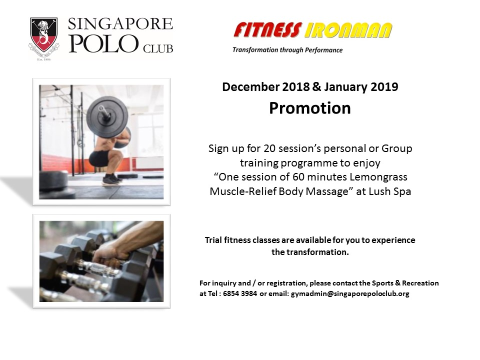 Dec Jan promotion