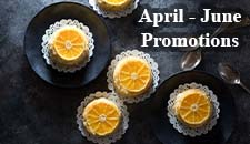 April - June Food Promotion