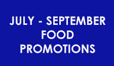 July - September Food Promotion