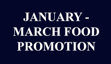 January – March Food Promotion